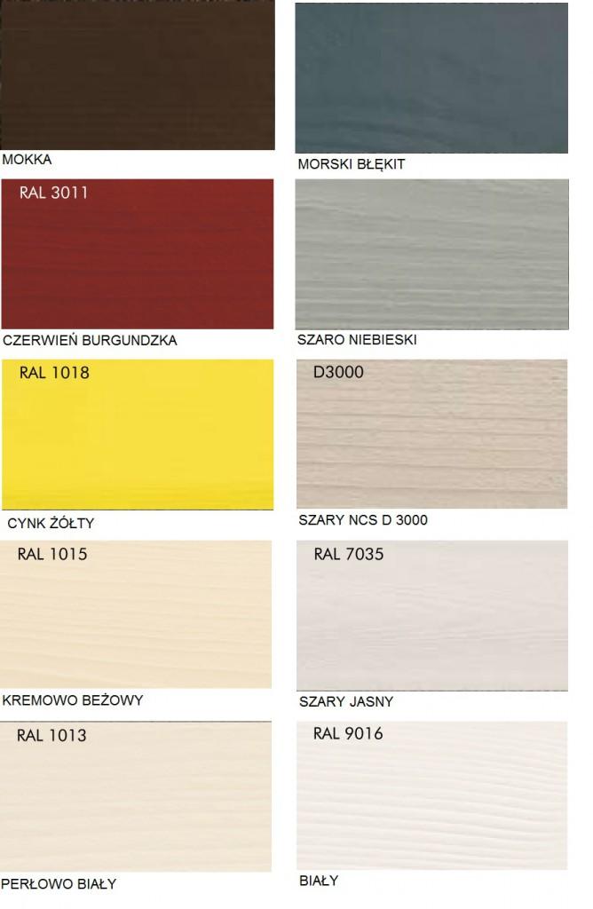 WoodCare Color kolory kryjące Haeussermann