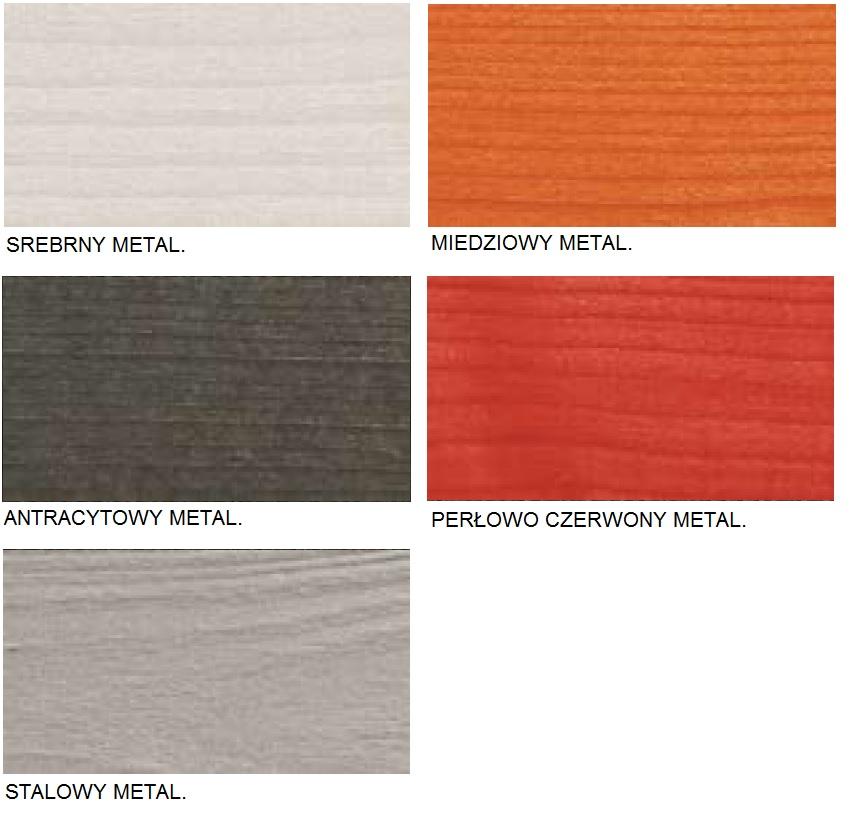 WoodCare Color kolory metaliczne Haeussermann
